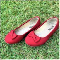 4761 - Sapato vermelho cereja La Dutry – 29 – 19.5 cm. - 29 - La Dutry Kids