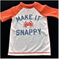 7136 – Camiseta Old Navy – Menino 3 anos – Caranguejo - 3 anos - Old Navy