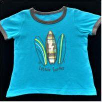 7126 – Camiseta Carter's – Menino 18 meses – Little Surfer - 18 meses - Carter`s