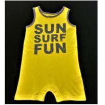 7122 – Macaquinho Carter's – Menino 12 meses – Sun, Surf, Fun - 1 ano - Carter`s