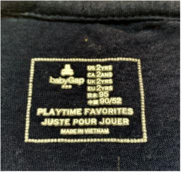 7133 – Camiseta Baby Gap – Menino 2 anos - 2 anos - Baby Gap