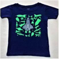 7139 – Camiseta Carter's – Menino 6 anos – Nave Espacial - 6 anos - Carter`s