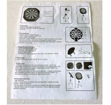 7212 – Jogo eletrônico magnético de dardos. - Sem faixa etaria - Importado