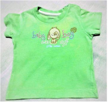 7219 – L75 - Camiseta Verdinha Teddy Boom – H – 3 a 6 meses - Baby Boy - 3 a 6 meses - Teddy Boom