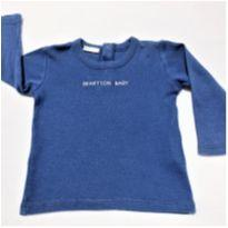 7254 – Blusa Benetton Baby – Menino 3 a 6 meses - 3 a 6 meses - Benetton Baby