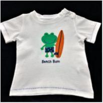 7300 – Camiseta Carter's – Menino 12 meses – Beach Bum - 1 ano - Carter`s