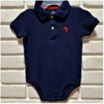 7338 – Camisa body Carter's – Menino 9 meses – Peixinho vermelho - 9 meses - Carter`s