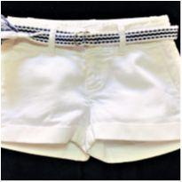 7378 – Short branco Ralph Lauren – Menina 4 anos - 4 anos - Ralph Lauren