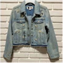 7475 – Blusão jeans Gap Kids – Menina 10-11 anos – Pernalonga - 10 anos - Gap Kids