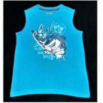 7565 – Camiseta Basic Editions – Menino 8 anos – Tubarão Surfista - 8 anos - Importada