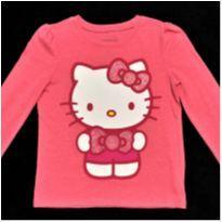 7900 – Blusa Hello Kitty – Menina 3 anos - 3 anos - Hello  Kitty