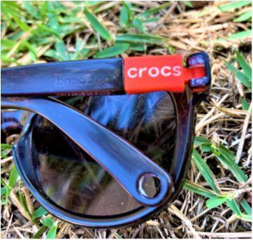 7954 – Óculos de sol infantil CROCS - Unissex – A partir de 4 anos - Sem faixa etaria - Crocs