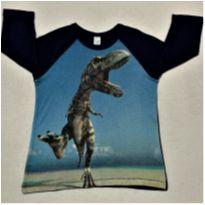 8095 – Camiseta Baby Gap – Menino 4 anos – Dinossauro - 4 anos - Baby Gap