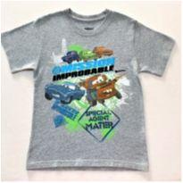 8143 – Camiseta Disney Pixar – Menino 6-7 anos – Mission Improbable - 6 anos - Disney