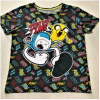 8148 – Camiseta Cartoon Network – Menino 14 anos – Adventure Time - 14 anos - Cartoon Network