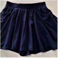 8247 – Mini saia calça Old Navy – Menina 6-7 anos - 6 anos - Old Navy