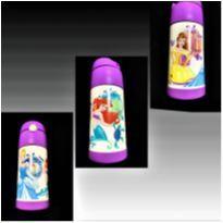 8382 – Garrafa Térmica Infantil Thermos – Princesas Disney -  - Thermos Funtainer