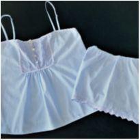 8449 – Pijama duas peças Corpo & Arte – Feminino S – 14-16 anos - 14 anos - Nacional