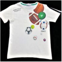 8550 – Camiseta MKT – Menino 4 anos – Bolas esportivas - 4 anos - MKT