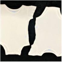 8598 – Duo de bodies Carter's – Unissex M – 3 a 6 meses - 3 a 6 meses - Carter`s