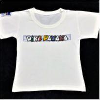 8631 – Camiseta N&P Fashion - Diko Pataka – Unissex 2 anos - 2 anos - Nacional