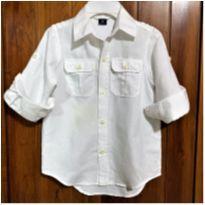 8612 – Camisa esporte fino Gap Kids – Menino – 4-5 anos - 4 anos - Gap Kids