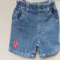 686 - Short jeans MVP - H/6-9 meses - 6 a 9 meses - Importada
