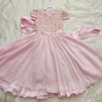 Vestido de Festa Luxo Princesa 6 anos - 6 anos - bella child