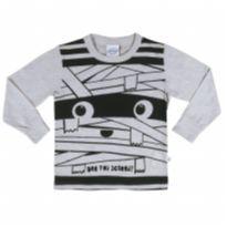 Camiseta Abrange Blusa Manga Longa Infantil Masculina 17065 tamanho 01 - 1 ano - Abrange