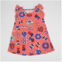 Vestido Infantil Elian Tamanho G bebê 21913 cor 4157 - 9 meses - Elian