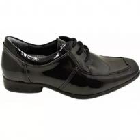 Sapato Infantil Social Finobel - Preto Verniz - Tam 24