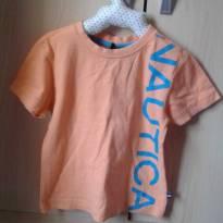 Camiseta salmon Náutica - Tam 2T - 18 meses - Nautica