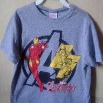 Camiseta manga curta avangers - 4 anos - MARVEL