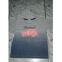 Camiseta manga curta - Tam 3 - 2 anos - DDK