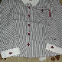 Camisa social manga longa infantil