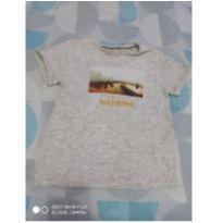 Camiseta Zara com detalhes nas mangas - 4 anos - Zara