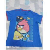 Camiseta angry birds - 3 anos - Angry Birds