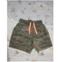 Shortinho camuflado estiloso - 9 meses - Carter`s