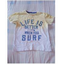 Camiseta manga curta  tie dye - 1 ano - Poim