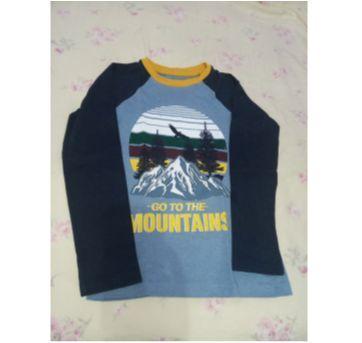 Camiseta manga longa -outono - 5 anos - marisa