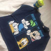 Camiseta fofa do Mickey - 9 meses - Disney