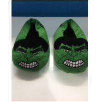 Pantufa do Hulk -  Tamanha 30-31 - 30 - MARVEL