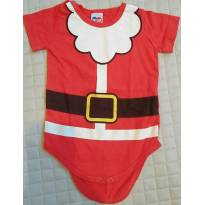 Body Papai Noel menino  - Tip Top - 3 a 6 meses - Tip Top