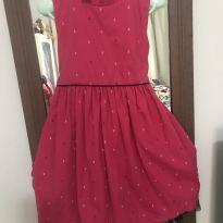 Vestido longo de barra com tule - 6 anos - Turma mixirica