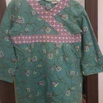 Vestido estilo oriental Green - 24 a 36 meses - Green