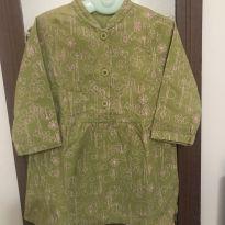 Vestido fofíssimo Green - 24 a 36 meses - Green