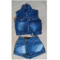 Conjunto Jeans - 24 a 36 meses - Outros