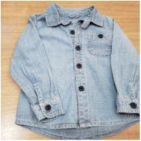 Camisa jeans - 18 a 24 meses - Baby Club