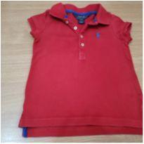 Camisa Polo vermelha - 4 anos - Polo Ralph  Lauren Réplic