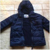 Jaqueta Inverno Forrada Azul Marinho - 3 anos - C&A